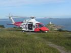CG Helo WB on Mumbles Hill